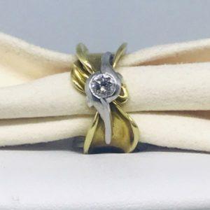 anello oro e diamanti gioielli torino