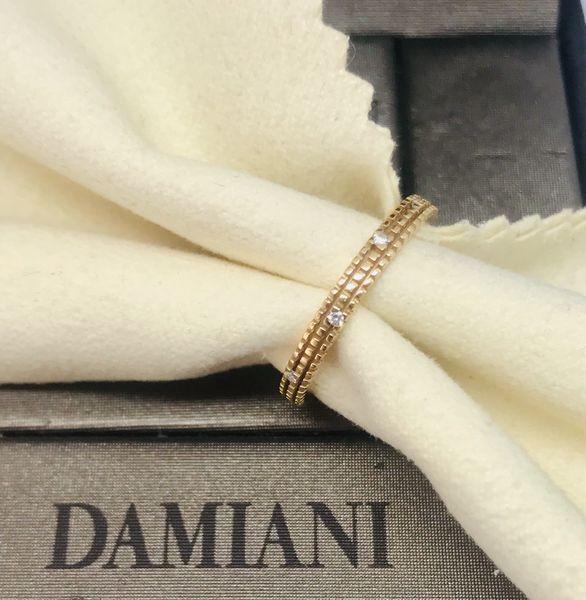 Anello Damiani con diamanti ct 0,08