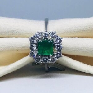 anello smeraldo diamanti torino offerte d'oro