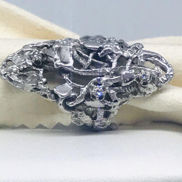 Anello con diamanti carati 0,09