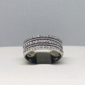 anello con diamantini gioielli torino
