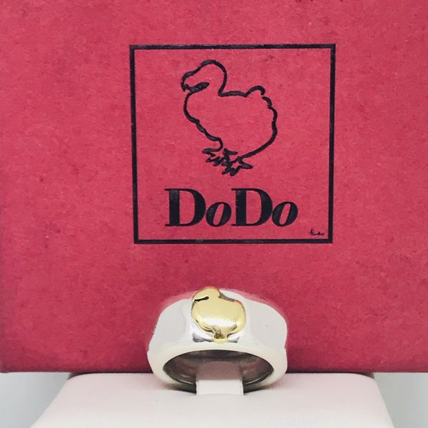 Anello Dodo Pomellato in argento e oro