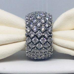 anello multi diamanti gioielli torino