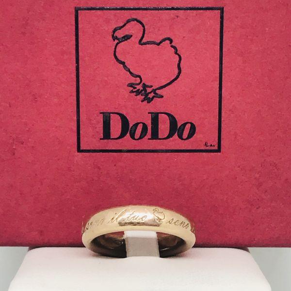 """Anello Pomellato """"sono il tuo dodo"""""""