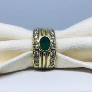 anello pietre preziose e oro gioielli torino