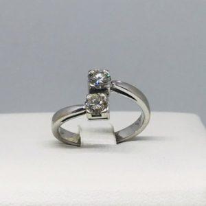 anello 2 pietre preziose gioielli torino