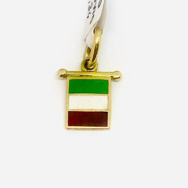ciondoloa forma di bandiera gioielli torino