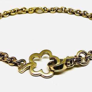 bracciale oro giallo pomellato gioielli torino