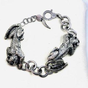 bracciale lavorato a forma di animale gioielli torino