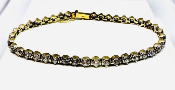 bracciale in oro giallo a 18 carati gioielli torino