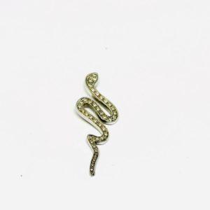 a forma di serpente con pietre preziose gioielli torino