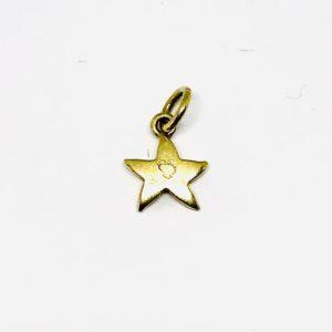 ciondolo a forma di piccola stella gioielli torino