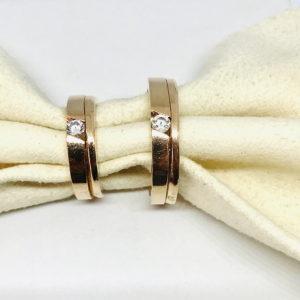 coppia di fedi in oro giallo gioielli torino