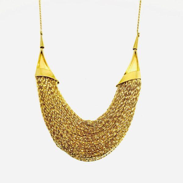 collana in oro giallo gioielli torino