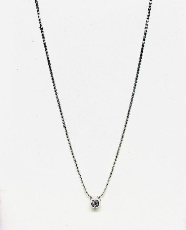 collana con ciondolo circolare gioielli torino