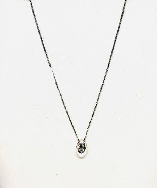 collana con ciondolo ovale gioielli torino