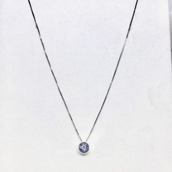 collana con ciondolo diamante gioielli torino