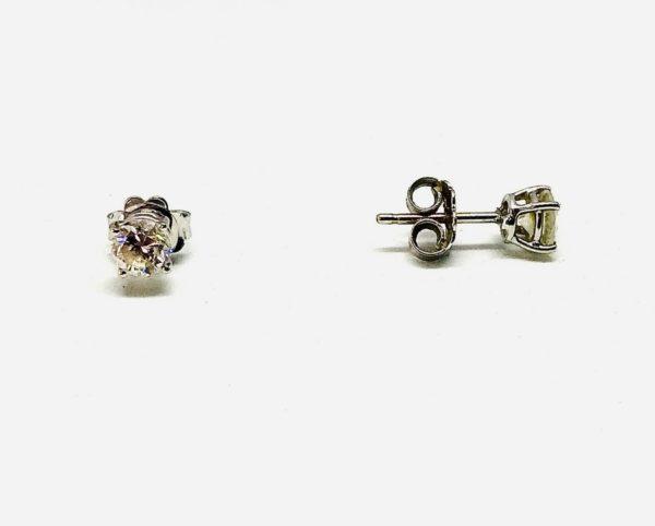 orecchini con diamante gioielli torino