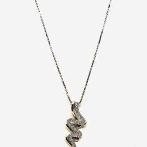 collana con ciondolo serpentino gioielli torino offerte d'oro