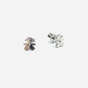 orecchini a forma di bambina gioielli torino