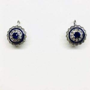 orecchini con pietra viola gioielli torino