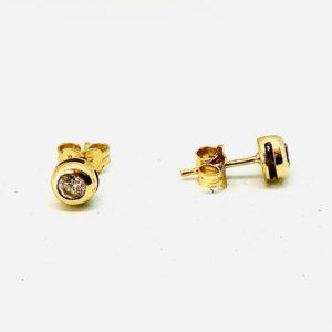 orecchini in oro con pietre gioielli torino