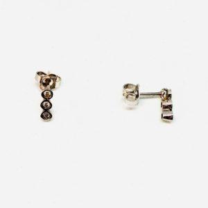 orecchini con tre pietre gioielli torino