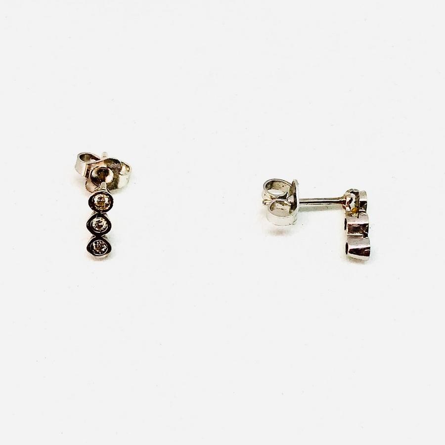Orecchini con diamanti carati 0,18
