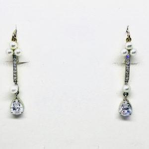 orecchini con perle e diamanti gioielli torino