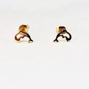 orecchini a forma di delfino gioielli torino