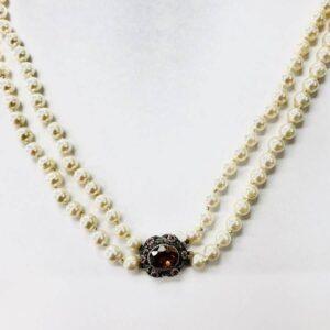 collana in perle con gancio in oro gioielli torino offerte d'oro