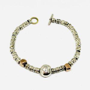 bracciale in argento dodo pomellato gioielli torino offerte d'oro