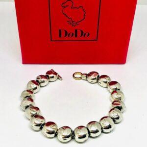 bracciale argento pomellato offerte d'oro gioielli torino