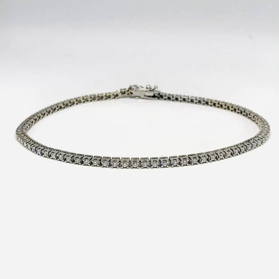 Bracciale oro 18 carati con diamanti