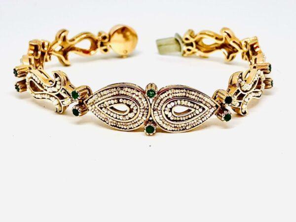bracciale in oro lavorazione antica gioielli torino offerte d'oro