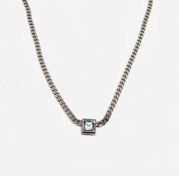 collana in argento con topazio gioielli torino offerte d'oro