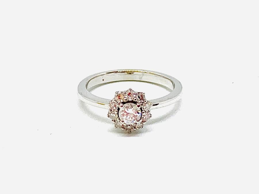 Anello con diamanti ct 0,29