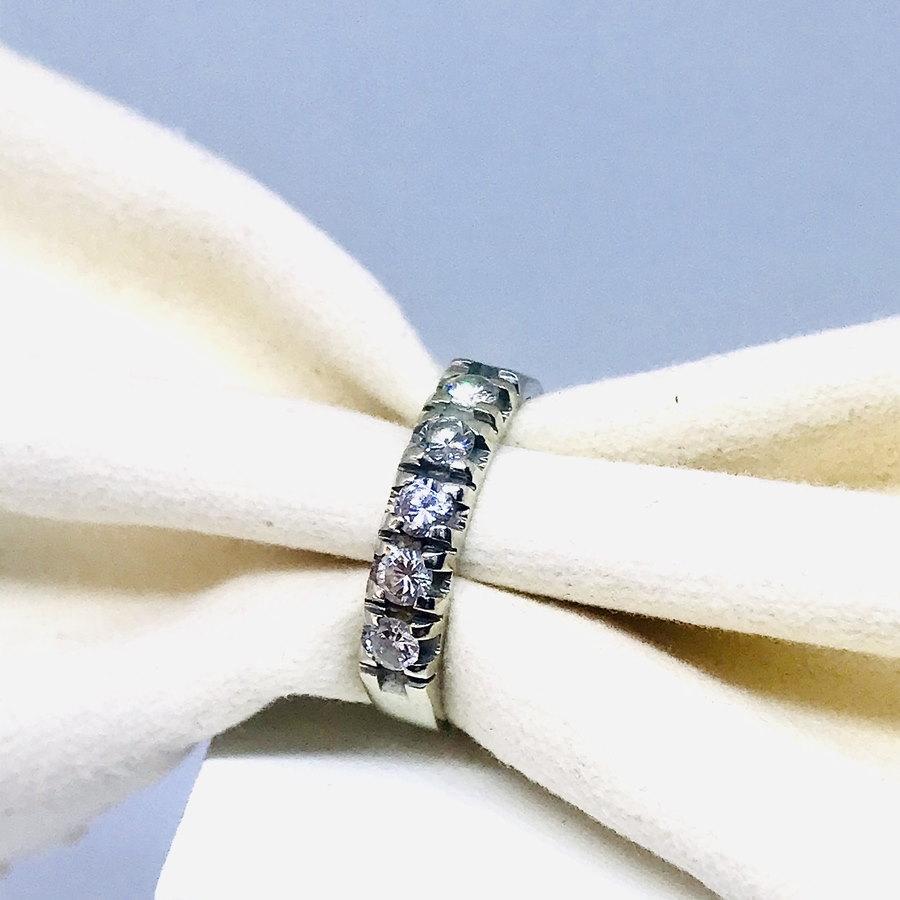 Anello con diamanti ct 0,40