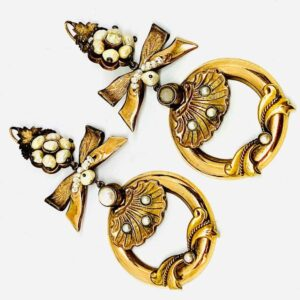 orecchini in oro giallo gioielli torino offerte d'oro