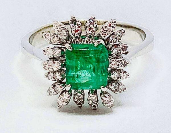 anello con smeraldo gioielli torino