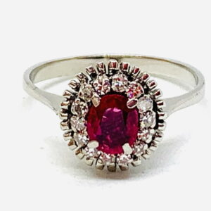 anello con rubini gioielli torino