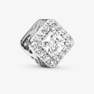 charm quadrato in argento gioielli torino offerte d'oro
