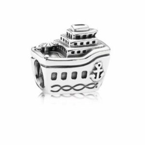 Charm Pandora in argento a forma di nave. Gioielli torino offerte d'oro