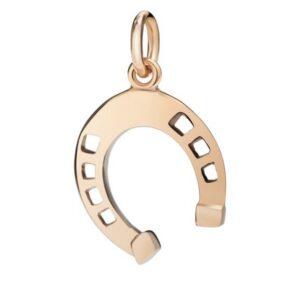 ciondolo in oro a forma di ferra da cavallo gioielli torino offerte d'oro