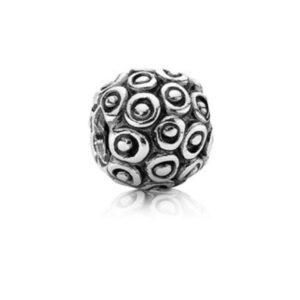 charm in argento a forma di pallina gioielli torino offerte d'oro