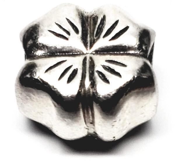 Charm Pandora quadrifoglio in argento gioielli torino offerte d'oro